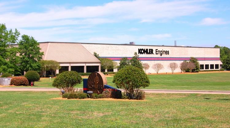 The new KOHLER plant in Hattiesburg, Mississippi