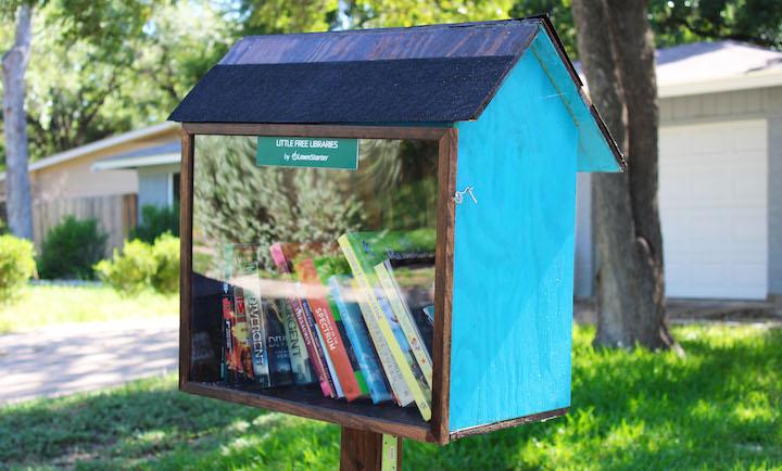 Little Free Library, Austin, LawnStarter