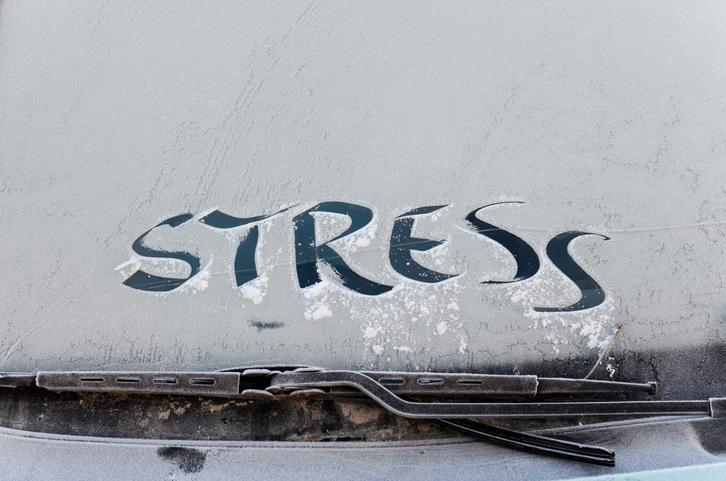stress snow